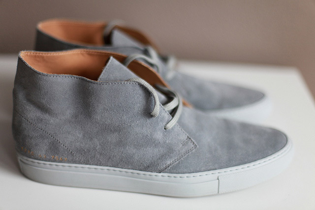common projects chukka suede cloud cuckoo. Black Bedroom Furniture Sets. Home Design Ideas