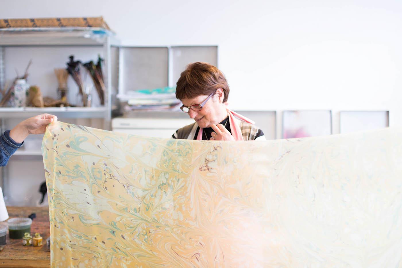 Ebruze workshop - Joey van Dongen